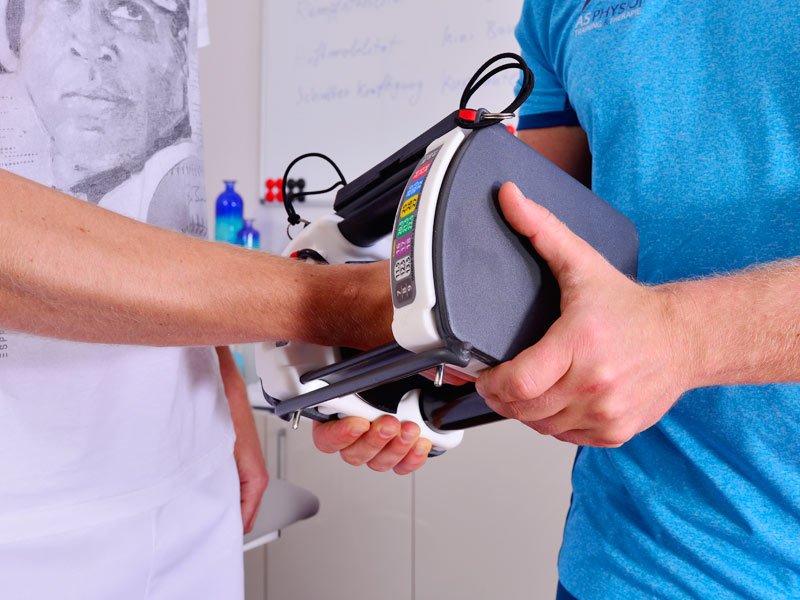Physiotherapy on the device Reha Gym