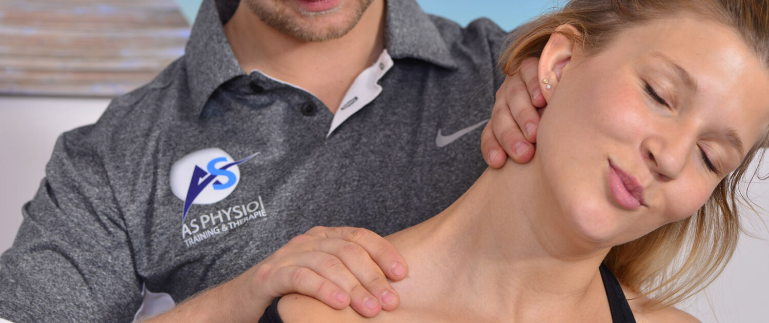 Manual therapy CMD Physiotherapy on the device