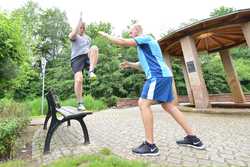 Performance Gym Personal Trainer Training
